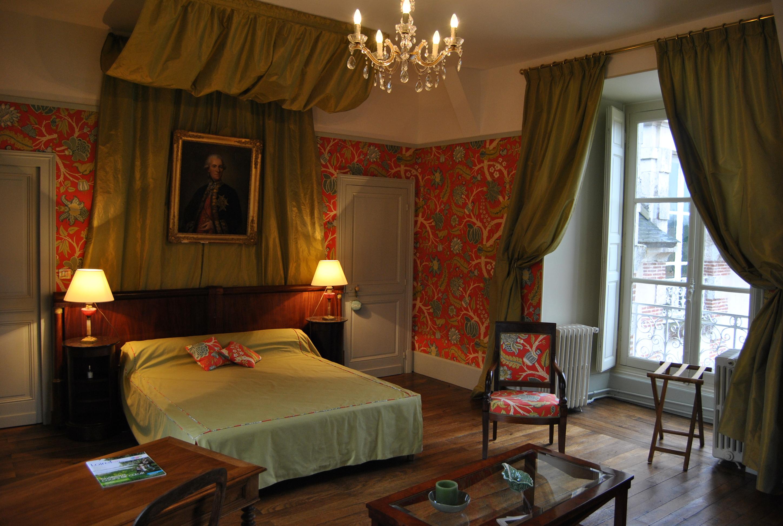 La chambre du parc ch teau la touanne chambres for Chambre chateau